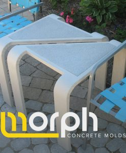 Concrete Tables and Bench Molds
